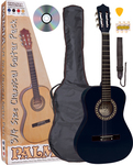 Palma 3/4 Classical Guitar Pack PL34BKOFT Black