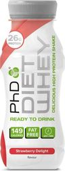 PhD Diet Whey Ready To Drink 330ml Φράουλα
