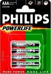 Philips Powerlife AAA (4τμχ)