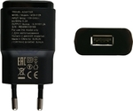 LG USB Wall Adapter Μαύρο (MCS-01ER)