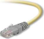 Belkin U/UTP Cat.5e Cable 1m Κίτρινο (F3X126B01M)