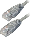 TrustWire U/UTP Cat.5e Cable 2m Γκρί (16127)