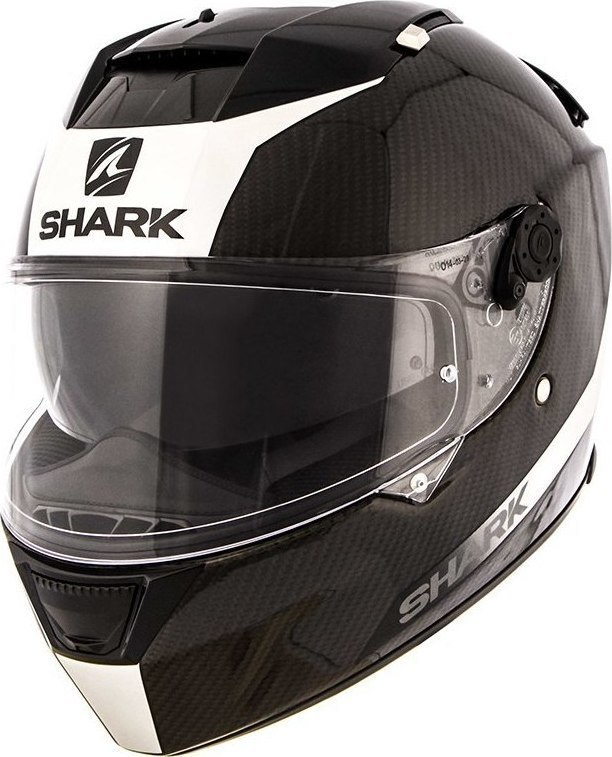 shark speed r 2 carbon skin white black. Black Bedroom Furniture Sets. Home Design Ideas