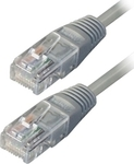 TrustWire U/UTP Cat.5 Cable 0.5m Γκρί (16125)