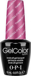 OPI Gelcolor Thank Glogg It's Friday! GCN48