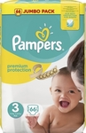 Pampers New Baby No 3 (5-9kg) 66τμχ