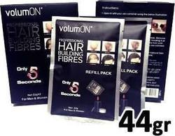 VolumON Hair Building Fibers Refill Pack Black 44gr