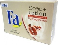 Fa Soap + Lotion Body Lotion Infused Pomegranate Cream Soap 103gr