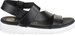 ΓΥΝΑΙΚΕΙΑ ΠΕΔΙΛΑ FLATFORMS SAGIAKOS (BLACK) 0602/WHT.SOLE