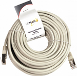 Heitech U/FTP (STP) Cat.5e Cable 10m Γκρί (09002125)