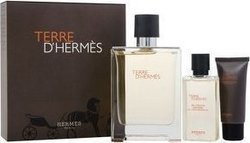 Hermes Terre d 'Hermes Eau de Toilette 100ml & Shower Gel 40ml & After Shave Balm 15ml