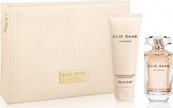 Elie Saab Le Parfum Eau de Toilette 50ml & Body Lotion 75ml & Cosmetic's Bag