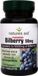 Natures Aid Bilberry 50mg 90 ταμπλέτες
