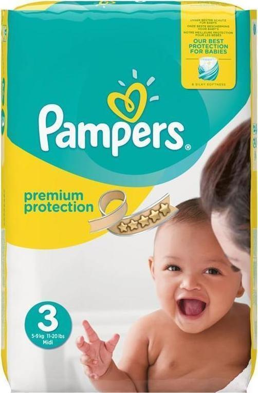 123210a708e2 Προσθήκη στα αγαπημένα menu Pampers New Baby No 3 (5-9kg) 204τμχ