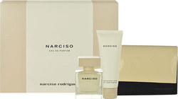 Narciso Rodriguez Narciso Eau de Parfum 50ml & Body Lotion 75ml & Bag