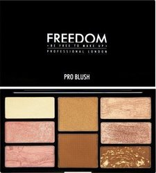 Freedom London Pro Blush Palette Bronze And Baked