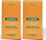 Klorane Hair Removal Cold Wax Strips Face and Sensitive Zones 2x6τμχ.