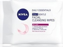 Nivea Cream Gentle Facial Cleansing Wipes 20τμχ