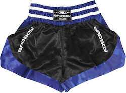 ΣΟΡΤΣΑΚΙ BAD BOY MUAY THAI DTAA SHORTS - BLACK/BLUE