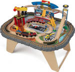 Kid Kraft Transportation Station Train Set & Table