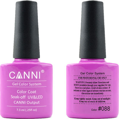 Canni Nail Art Color Coat 088 Fresh Fuchsia