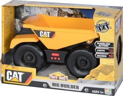 Toy State Big Builder & Dump Truck Cat