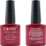 Canni Nail Art Color Coat 122 Burgundy Red
