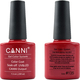 Canni Nail Art Color Coat 135 Orient Red