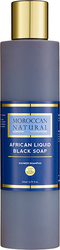 Moroccan Natural African Liquid Black Soap 200ml