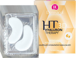 Dermacol Hyaluron Therapy 3D Refreshing Eye Mask 6x2pcs 36gr