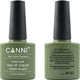 Canni Nail Art Color Coat 150 Blackish Green