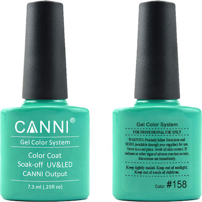 Canni Nail Art Color Coat 158 Green Sea