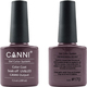Canni Nail Art Color Coat 170 Black Rose