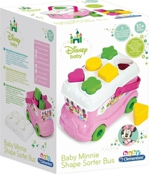 Clementoni Baby Minnie Shape Sorter Bus