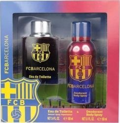 Air-Val International Fc Barcelona Eau de Toilette 100ml & Deodorant 150ml