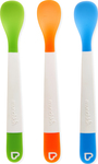 Munchkin Lift Infant Spoons Blue/Orange/Green, 4m+