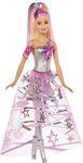 Mattel Barbie Star Light Adventure Doll in Gown