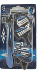 Umbro Disposable Razors 3 Τεμάχια