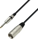 Adam Hall Microphone Cable XLR male - 6.3mm male 3m (K3MMP0300)