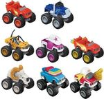 Fisher Price Blaze & the Monster Machines Assortment - 8 Σχέδια
