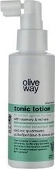 Olive Way Tonic Lotion for Women Against Hair Loss with Rosemary & Red Wine 100ml