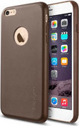 Spigen Leather Fit Olive Brown (iPhone 6/6s Plus)