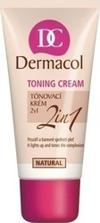 Dermacol Toning Cream 2 in 1 Natural 30ml