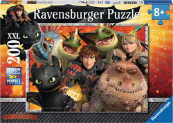 How to Train your Dragon: Hicks, Astrid & the Dragons 200pcs (12812) Ravensburger