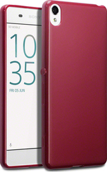 Terrapin TPU Back Cover Red (Xperia XA)