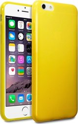 Terrapin TPU Gel Transparent Yellow (iPhone 6/6s Plus)