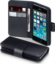Terrapin Genuine Leather Wallet για Apple iPhone 5/5S Black