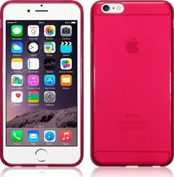 Terrapin TPU Gel Transparent Red (iPhone 6/6s)