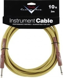 Fender Custom Shop Cable 6.3mm male - 6.3mm male 3m (099-0820-028)