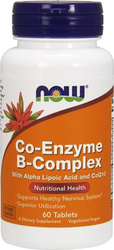 Now Foods Co-Enzyme B-Complex 60ταμπλέτες
